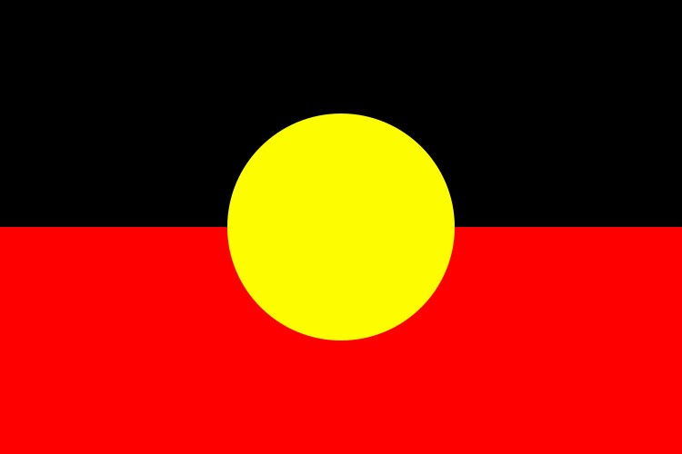 The Australian Aboriginal Flag