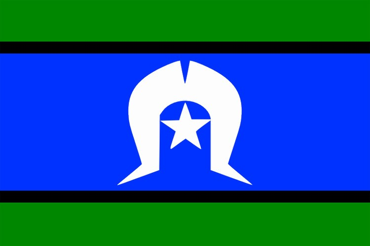The Torres Strait Islanders Flag